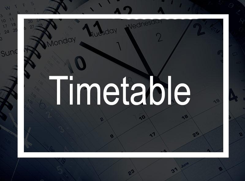 Timetable-program